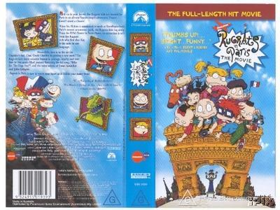 """Rugrats In Paris"" on Video"
