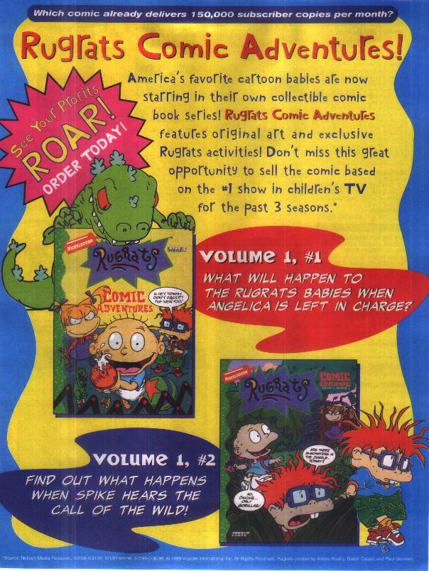 Rugrats Comic Adventures Miscellanea