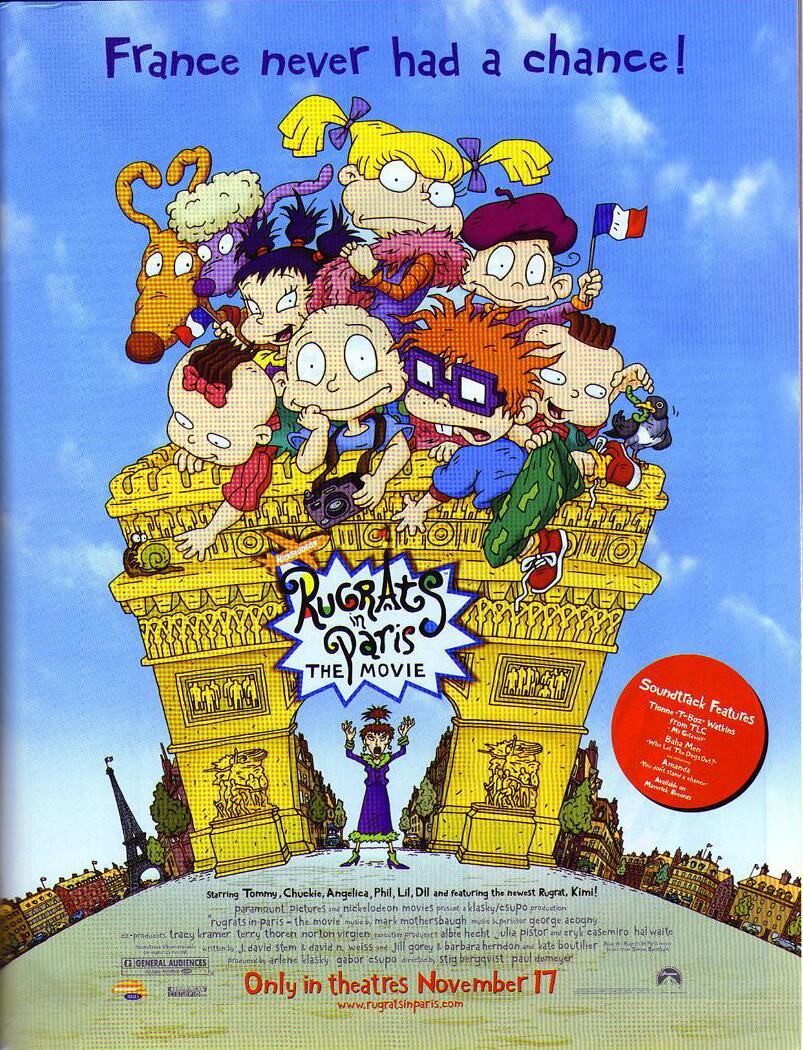 """Rugrats In Paris"" Movie Posters"